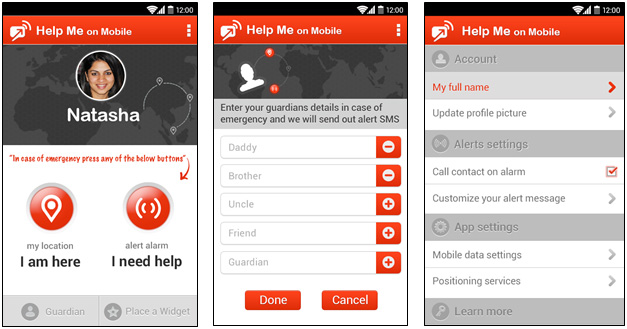 helpme mobile app
